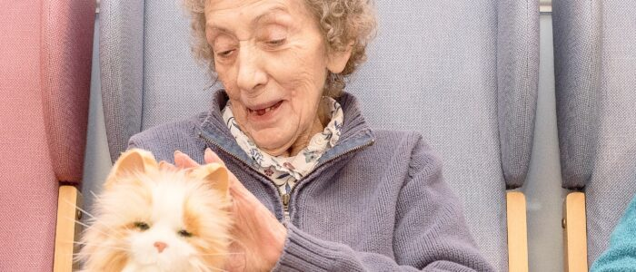 Wicksteed Court Care Home: robotic pet therapy