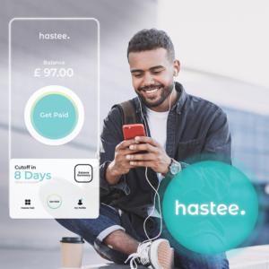 Man using Hastee app