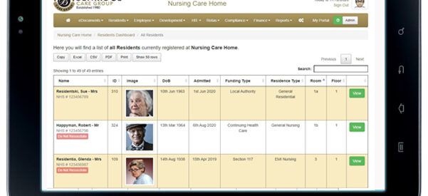 Benridge Care Group: building a bespoke online system