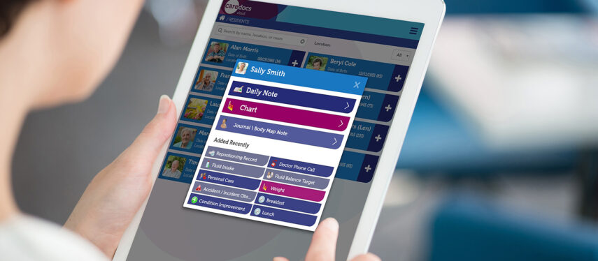 Wicksteed Court Care Home: taking care planning online