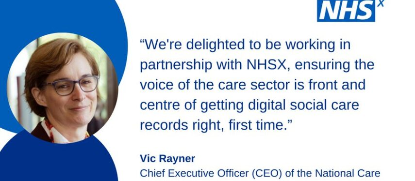 Support for care providers to adopt a digital social care record