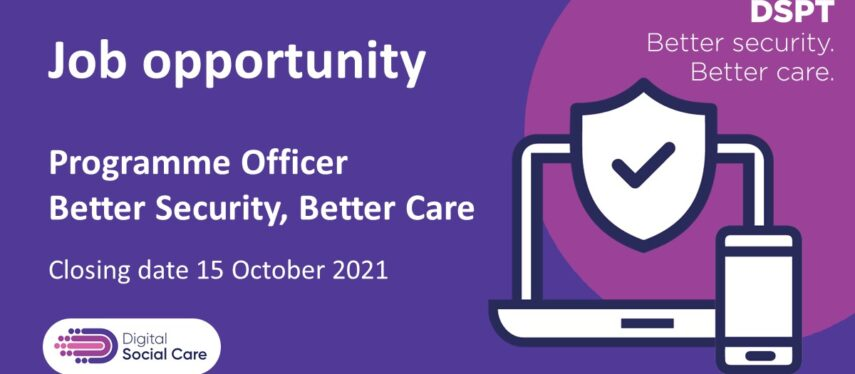 Job opportunity with the Better Security, Better Care team