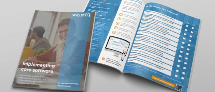 Software firm Unique IQ aims to help care providers make the right technology choices with a free guide and workbook